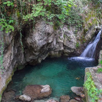 candalla-natural waterfalls in Tuscany